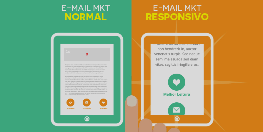 E-MAIL MARKETING NÃO RESPONSIVO